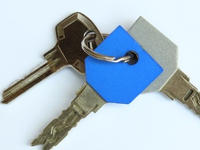 Key sleeve in Blue Processed Versatile Plastic