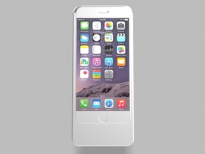 iPhone6 3200mah Charger with USB Power Out in White Strong & Flexible