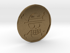 Monkey D. Luffy Coin in Natural Bronze