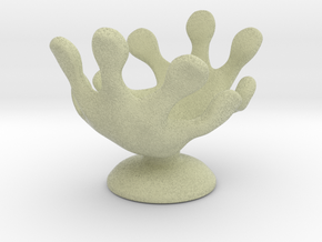 Hands Up Fun Egg Cup in Full Color Sandstone