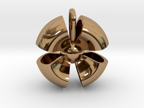 Ribbon small in Polished Brass