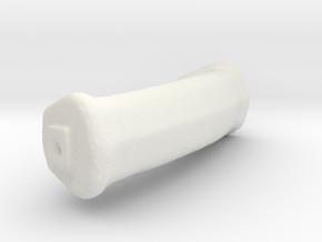 Pot Handle 1 Post Meshmixer in White Natural Versatile Plastic