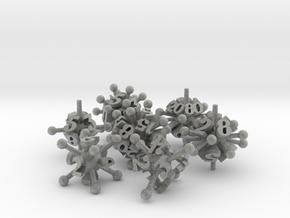 Jack Dice Set in Metallic Plastic