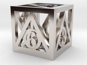 Deathly Hallows d6 in Platinum