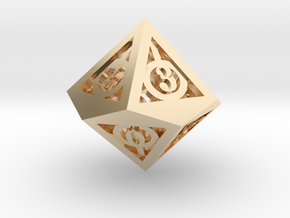 Deathly Hallows d10 in 14K Gold