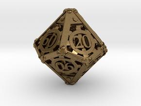 Steampunk Percentile in Natural Bronze