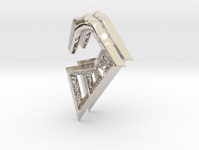 Ancient Ram Gauges (select a size) in Platinum