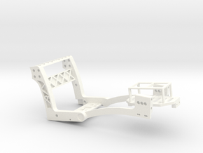 MicroCoaster V1.7.1 260mAh Lipo in White Strong & Flexible Polished