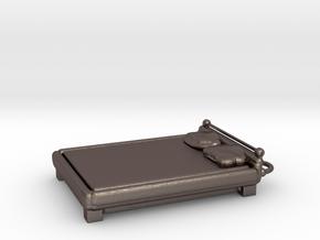 Bedkc in Polished Bronzed Silver Steel