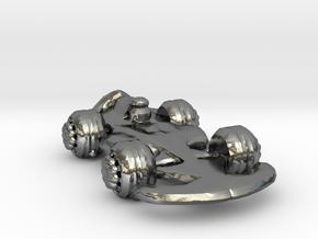 Formula1 Car Own Design in Polished Silver