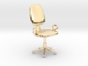Chair Mala in 14K Yellow Gold