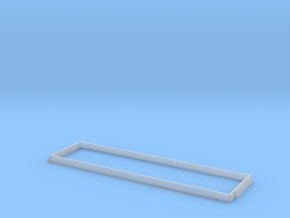 Side Extension for Blackstone HOn3 EBT Hopper in Smooth Fine Detail Plastic