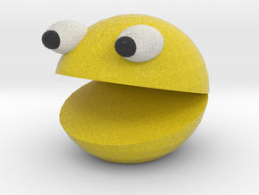 Tinkercad Sackman version 2 in Full Color Sandstone