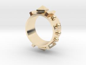 Guard III Ring - Sz. 5 in 14K Yellow Gold