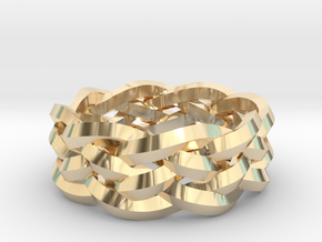 Five-Strand Braid Ring in 14K Yellow Gold