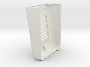 PrintedNoseGE1 in White Natural Versatile Plastic