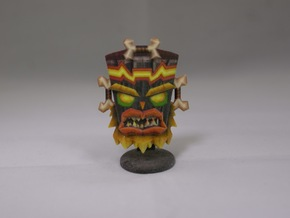 Uka Uka - Crash Twinsanity - 50mm in Full Color Sandstone