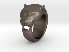 Panther ring 200% in Stainless Steel
