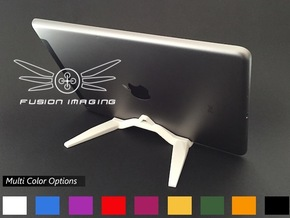 iPad / Tablet Stand in White Processed Versatile Plastic