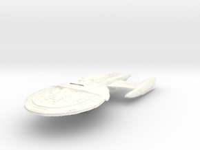 Southmay Class IV  BattleCruiser in White Strong & Flexible Polished