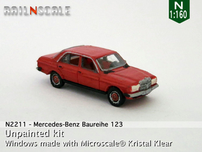 Mercedes-Benz W123 (N 1:160) in Frosted Ultra Detail