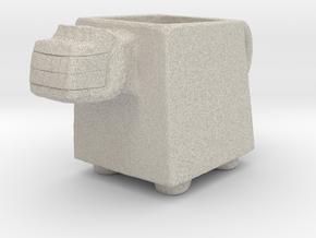 Pre Columbian Mug in Natural Sandstone