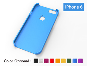 iPhone6 case—trademark in Blue Strong & Flexible Polished
