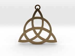 Triquetra in Natural Bronze