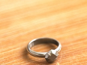 Cristall Ring5 6 size in Premium Silver
