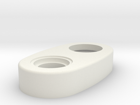 Mechanical - Top Cap Thicker Version in White Strong & Flexible