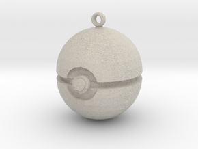 Pokeball in Natural Sandstone