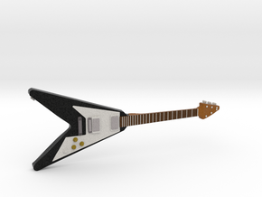 Gibson Flying V Guitar 1:18 in Full Color Sandstone