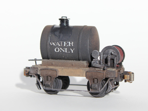 HOn3 water car in Smooth Fine Detail Plastic