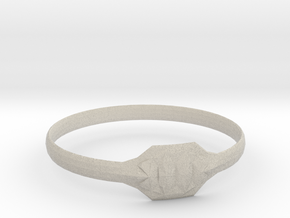 Triss Ring US Size 8 UK Size Q in Natural Sandstone