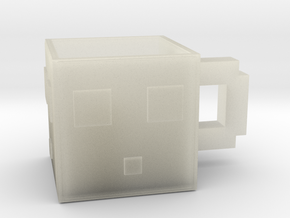Minecraft Slime Mug 6.5 Cm in Transparent Acrylic