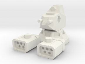 LRM-5 AutoTurret in White Natural Versatile Plastic