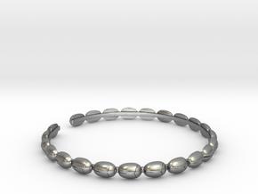 Bracelet - Beetles in Natural Silver