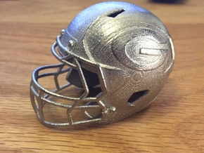 Mini Helmet Bottle Opener in Polished Nickel Steel