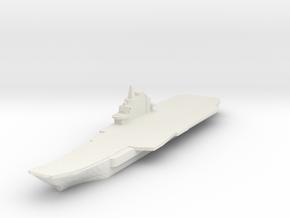 Liaoning / Varyag 1:1800 x1  in White Natural Versatile Plastic