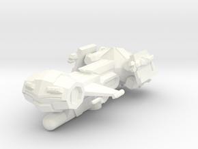 Ares Class Frigate in White Processed Versatile Plastic