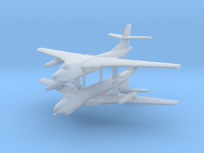 1/600 Vickers Valiant (x2) in Smooth Fine Detail Plastic