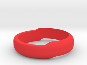 Minimal Bracelet (Small) in Red Processed Versatile Plastic