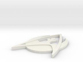 Trek Wars Version 1 in White Strong & Flexible