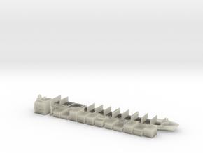 "1:1200 Scale Container Ship ""Horizon Kodiak"" in Transparent Acrylic"