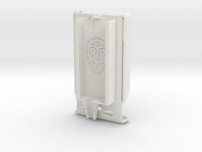 Razr MAXX / Dexcom Case - NightScout or Share in White Natural Versatile Plastic