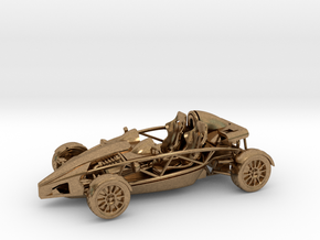 Ariel Atom 1/43 scale LHD no wings in Natural Brass