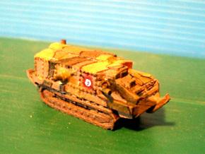 1/100 Schneider tank CA-1 in White Strong & Flexible