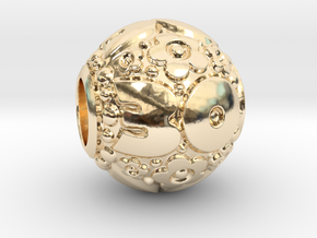 'Pandora' fit Charm 30th in 14K Yellow Gold