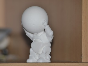 Marvin the paranoid android in White Strong & Flexible