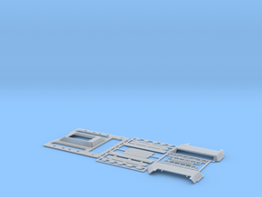 1:35 T-34 Engine Deck STZ in Smooth Fine Detail Plastic